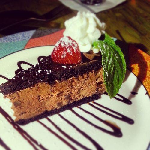 Maikai FtLauderdale Dinner Polynesianrestaurant Hawaii Chocolatemousepie Dessert Dietbreaker DeathByChocolate