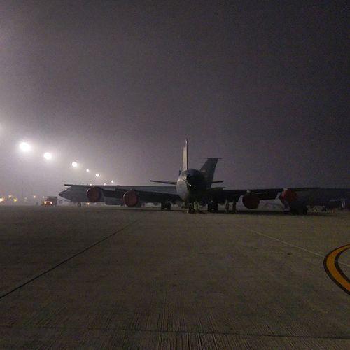 Early morning flight Reportagespotlight Avgeek Usafphoto