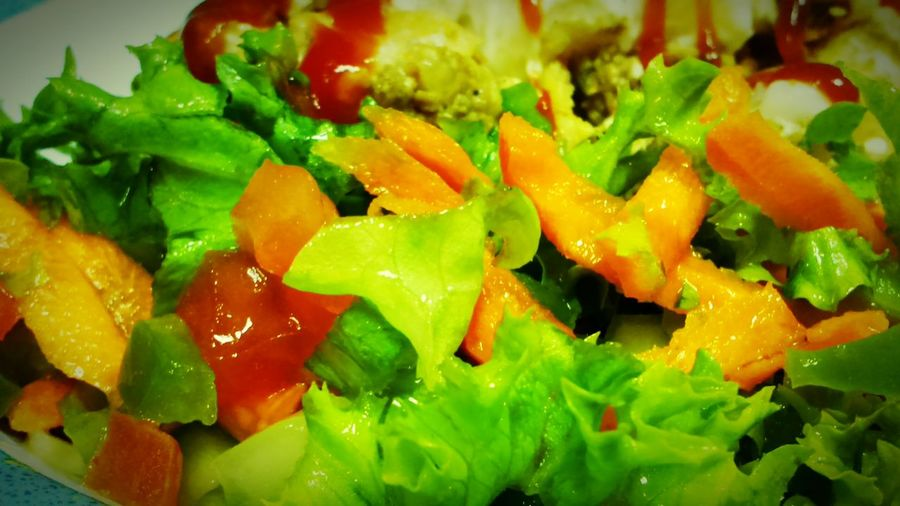 Salad Gogreen with Lemon and Extravirginoliveoil