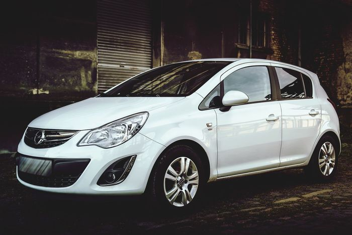Car Cars Opel Opel Corsa Corsa LastRide White Carphotography