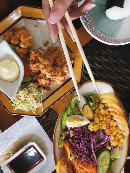 Japanese  Japanesefood Foodporn Food Green Thanksforthefood Happytummy Burf😍😍😍Healthy Eating Ready-to-eat Chopsticks