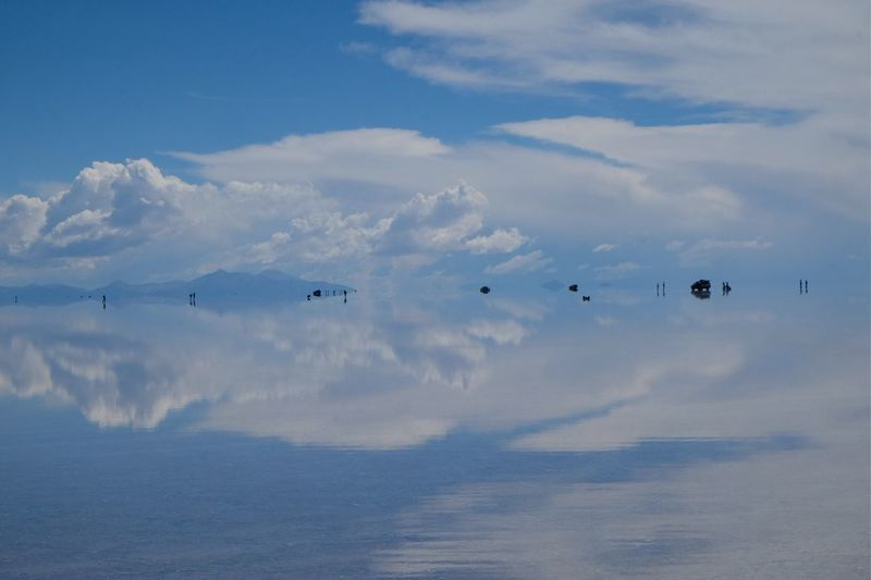 Uyuni Salt Flat Cloud - Sky Sky Water