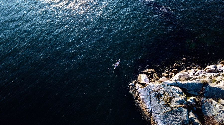 Solitude EyeEm Masterclass EyeEm Gallery EyeEm Selects EyeEm Nature Lover EyeEm Best Shots EyeEm Best Shots - Landscape EyeEm Best Shots - Nature Mavic Pro Mavic Canada British Columbia Wide Angle Boat Drone  Dronephotography Water Sea Nature Beauty In Nature Underwater Tranquility High Angle View Day No People Rock Scenics - Nature Outdoors Tranquil Scene Blue My Best Photo