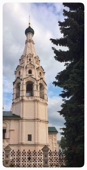Hanging Out Check This Out Russia Yaroslavl Church Колокольня Церковь Ярославль архитектура Arcitecture