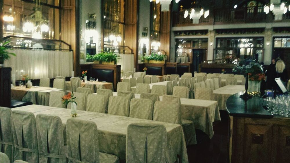 The Plzenska Restaurace 1st floor right inside the Municipal House Visiting Prague