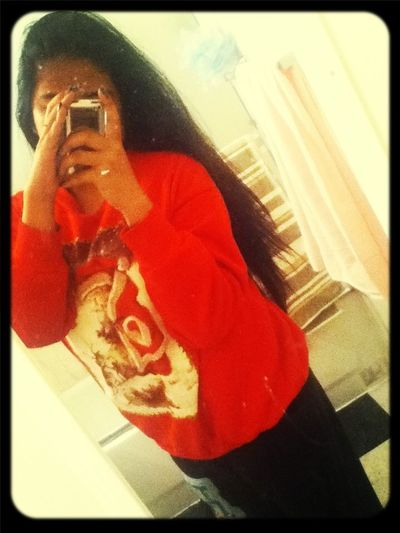 ` && i dressed bummy coz i stayed home, im down and depressed, mother-nature strikes again and i'm hungry !