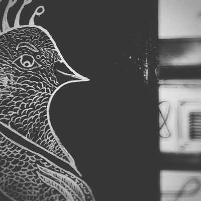 Monochrome Blackandwhite Streetphotography Street Street Portrait Graffiti