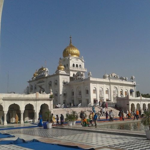 Gurdwara Bangla Sahib.... BIN BHAGAN SATSANG NAA LABHE|| Waheguru Bangla Sahib Delhi MC Blessed  Sairaan