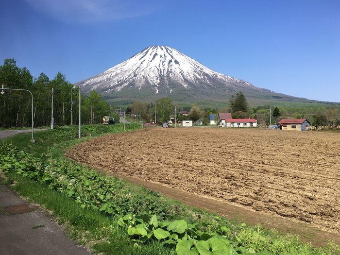 羊蹄山 Spring 春天 Yotei Mt. 羊蹄山 Hokkaido 北海道 Japan 日本 Mountain