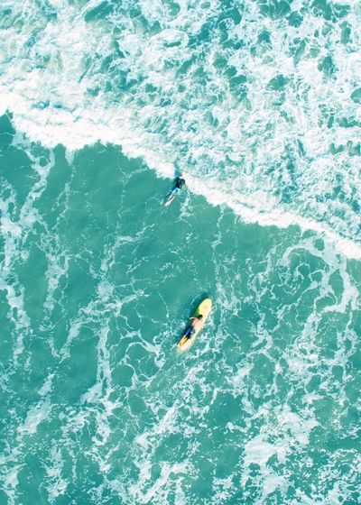 Surf Gods Water Sea High Angle View Waterfront Swimming One Person Day Sport Outdoors Nature Swimming Pool Motion Real People People Dji Phantom DJI Phantom 3 Professional VSCO Flying High