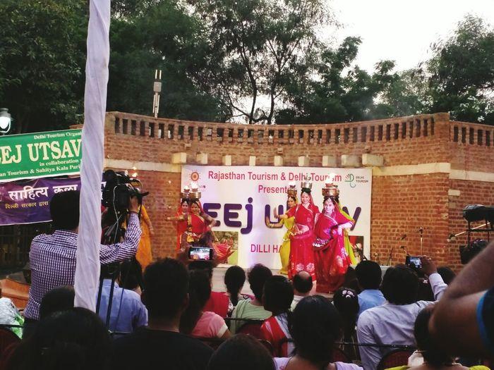 Teej Fest Ghumardance