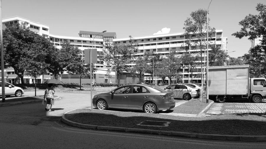 Sunny day City Land Vehicle Car Street Architecture City Street Parking Building Vehicle The Street Photographer - 2018 EyeEm Awards