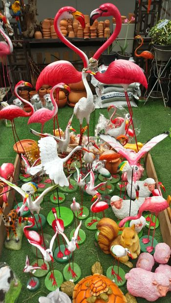 Day No People Close-up Animal Statues Green Color Bird Green Color Red Colour White Color Art Gallery Indoors  ArtWork Drees Beatifull Interiors Design In Thailand Bird Statue