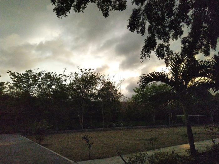 Sunset in ini