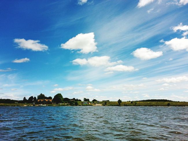 Water Blue Waterfront Tranquil Scene Sky Tranquility Scenics Sea Cloud Beauty In Nature Nature Calm Rippled Ocean Cloud - Sky Day Non-urban Scene Outdoors Solitude Majestic Poland Polska Water_collection Woda Poland 💗