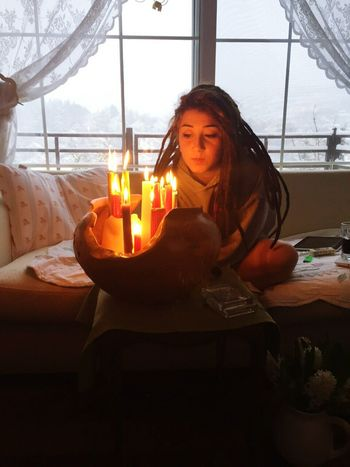 Dreadgirl Candles Snow ❄ Bohem