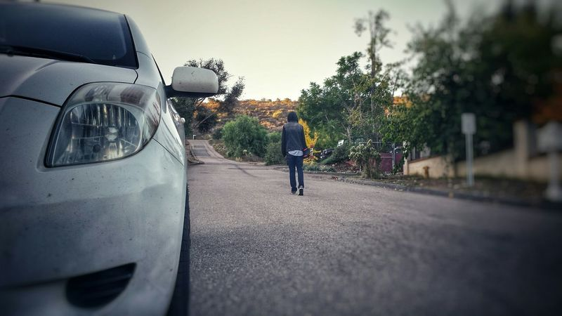 Poway, Ca Toyota Yaris Longboarding Airwalk Cold Welton Place Early Morning That's Me thanks to Peerapong Proakatok for the picture!