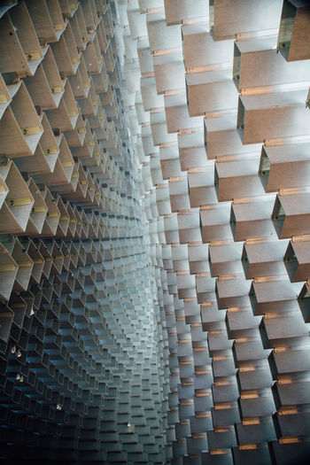 Bjarke Ingels' incredible summer pavilion at the Serpentine Gallery in London, United Kingdom. Abstract Architectural Feature Architecture Art ArtWork Built Structure Design Geometric Shape London Pattern Pivotal Ideas