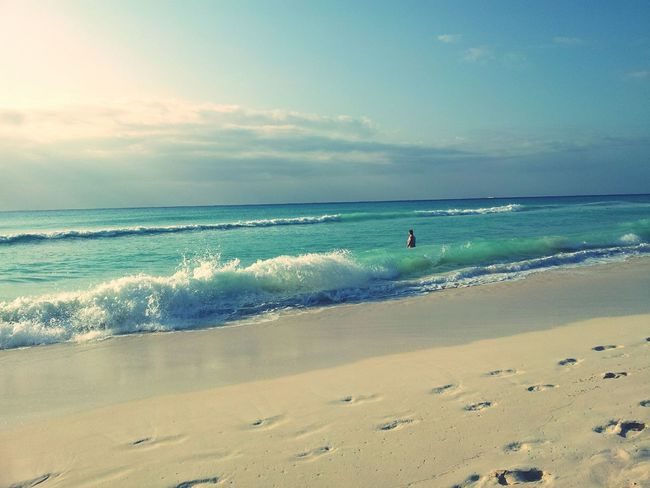 Mexico <3 Sun Shining Bright Beach
