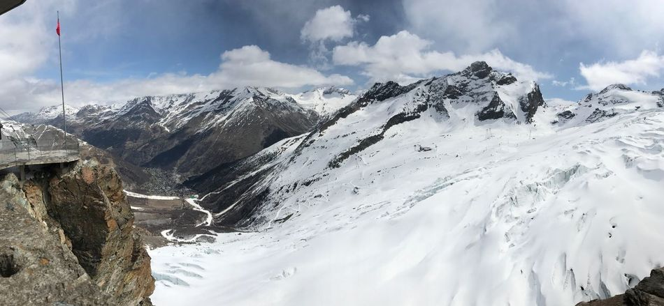 Saas Fee Spielboden Mountains Snow Cold Temperature Nature Mountain Range Sky Cloud - Sky Tranquility Landscape Beauty In Nature April With Snow Skiing Weekend With Family Iphonephotography
