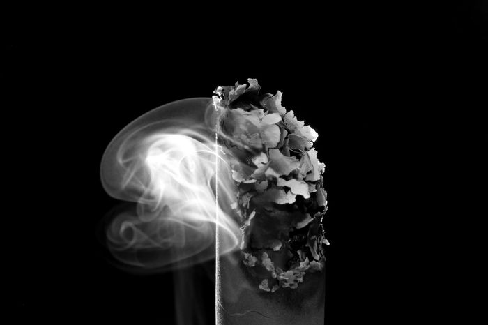 Smoke Abstract As Wallpaper Burned Flame Gas Art Background Cigarette Color Combustion Concept