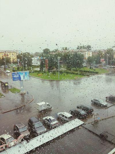 Дождь. Tourists Hi!