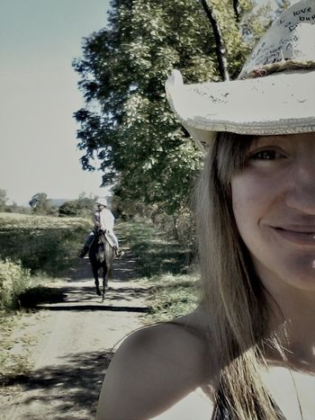 Country Life Trail Ride I Love My Horse