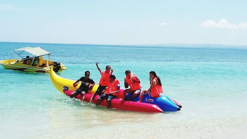 back to banana boat😖😏 Sumba Timur EyeEm Indonesia Beautiful Day Coast Beach Summer Views Summertime Summer 2016 Traveling Relaxing