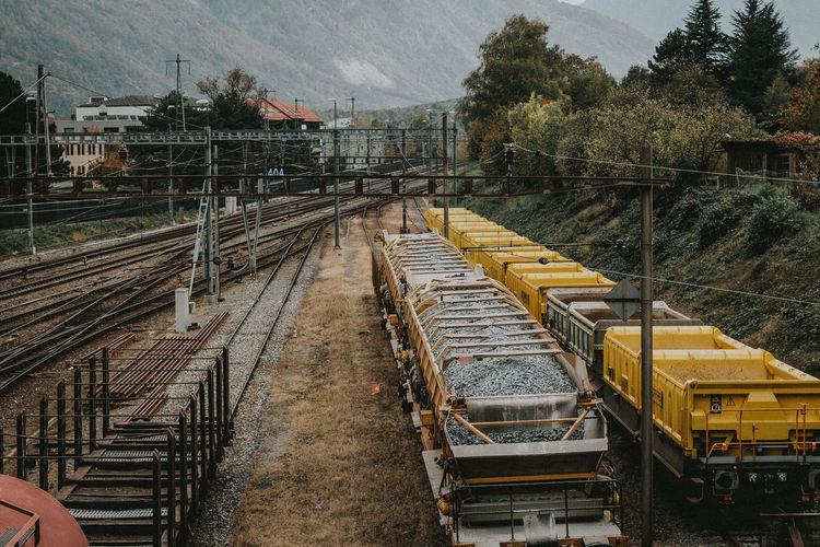 Railroad Track Train Tracks Railway Railway Track Swiss Train Train Train Track