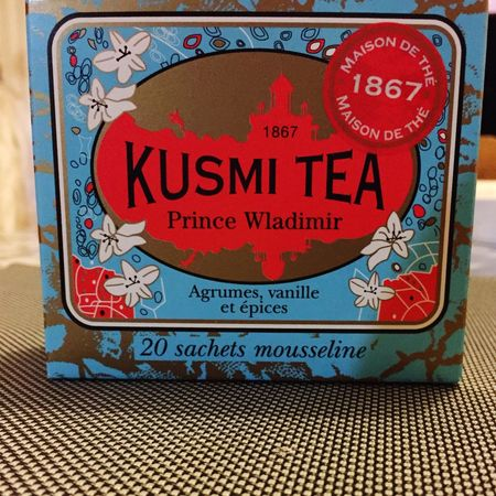 • Pause infusion 👍🌿 Kusmitea At Home Thebest