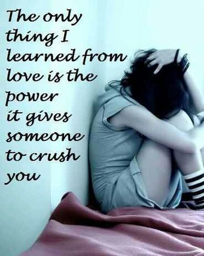 Love Is Most Likely Just Giving Your Crush A Power That Can Hurt You