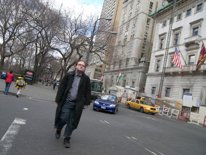 Crosswalk Man