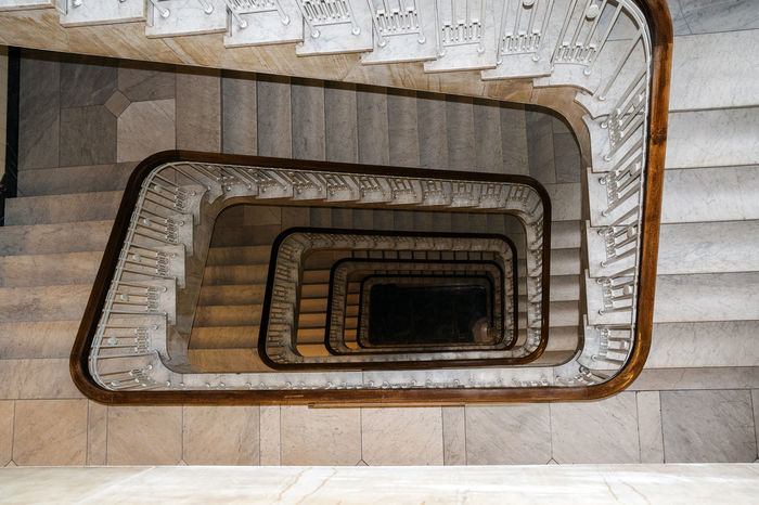 Architecture Square Stairs Below Built Structure Day Hand Rail Historic Indoors  Metaphor No People Old Railing Spiral Spiral Staircase Spiral Stairs Staircase Stairs Stairways Steps Steps And Staircases Sucsess Symbol Upwards