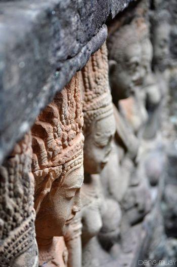 #angkor #asie #cambodge #temple #travel #voyagevoyage Nature Sculpture Statue