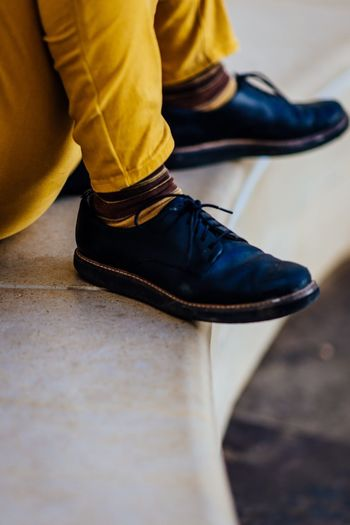 Shoe Low Section Human Leg One Person Human Body Part Body Part Indoors  Close-up Limb Sitting Clothing Human Limb Human Foot Casual Clothing