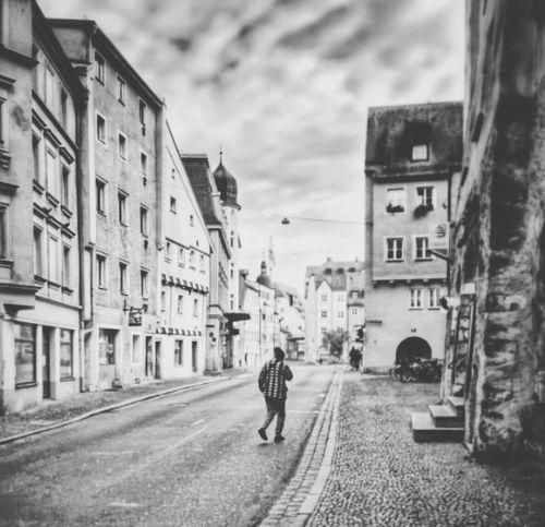 reuploaded shot Regensburg Black & White Street Photography Taking Photos