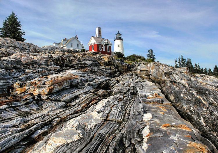 Lighthouse Nature Pemaquid Lighthouse Pemaquid Point, Maine Maine