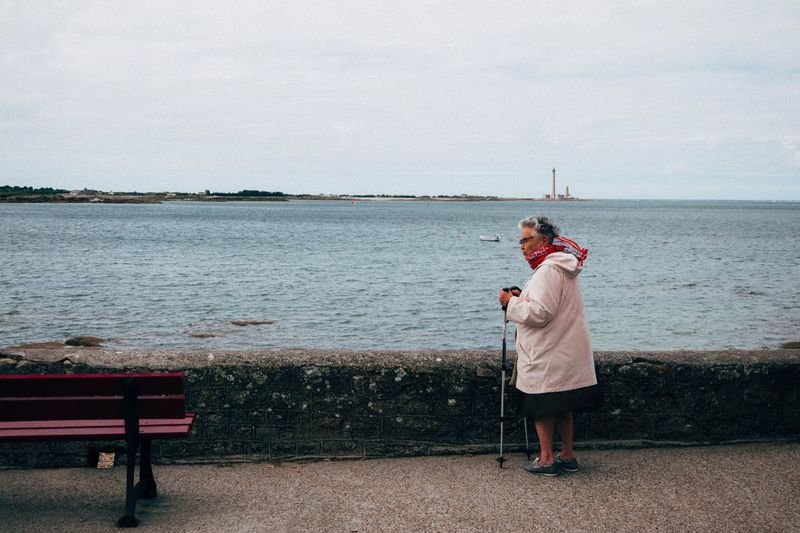 EyeEm Selects Sea Old Lady Normandie This Is Aging
