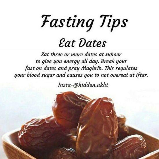 Fasting Dates Ramadan  Welcomeramadhan Islam #Muslim #Alhamdulillah #Pray #Dua #Sujood #Proud2beamuslim Blessed Subhanallah Beautiful Muslimah [ [ Muslim Fastingmonth Islam Insha'Allah