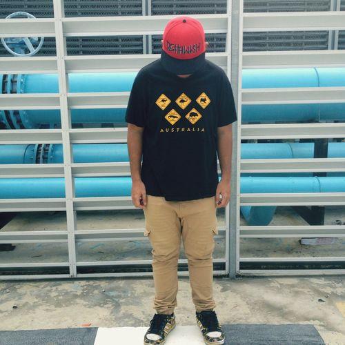 Selfportrait Myself Streetphotography Skateboarding Asics Deathwish Australia Snapback Kuching Street Fashion ✊