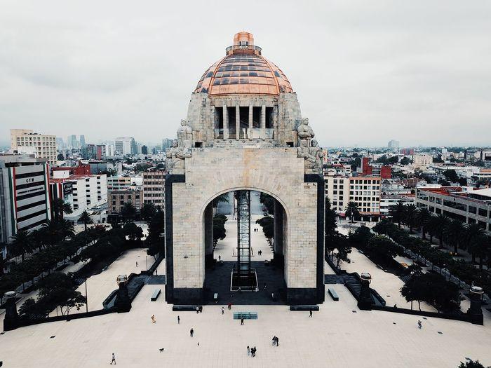 Monumento a la Revolución Architecture Building Exterior Built Structure Sky City Nature Building Cityscape Travel Destinations Travel Day