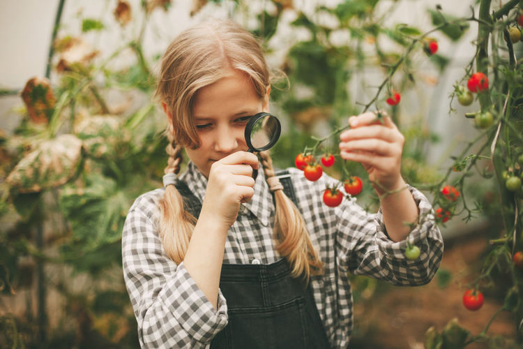 Curious children. organic pure products