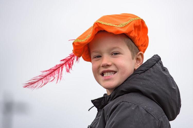 Boy Child Children Festive Season Happy How You Celebrate Holidays Intochtsinterklaas Kinderenaanhetwater Netherlands Santa Claus Sinterklaas Smiling St. Nicolas Zwarte Piet