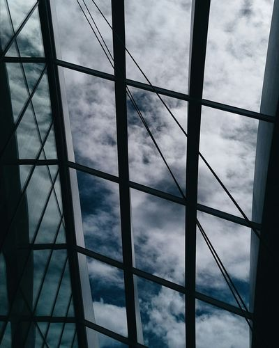 ☁ Sky Clouds Skygardens Skygarden London Photography