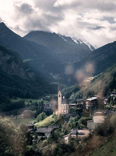 The beautiful town of Heiligenblut, Austria Heiligenblut Austria Austrian Alps Alps Grossglockner Church Church Architecture Landscape Mountain Nature Building No People Scenics - Nature