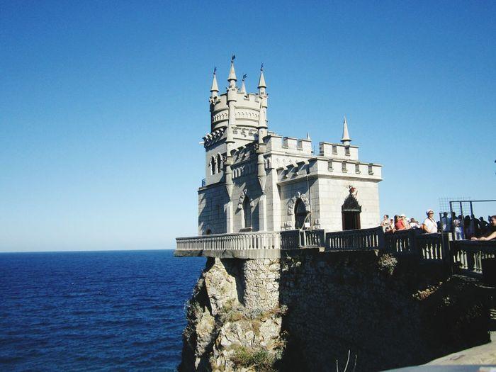 Shallow's Nest Yalta Crimea Russia Recreation  Blacksea Sea Sky Travel