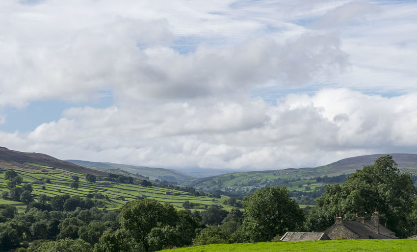 Yorkshire Beauty In Nature Cloud - Sky Landscape Mountain Nature Outdoors Reeth Scenics Sky Tranquil Scene Tranquility Trees And Nature Valley