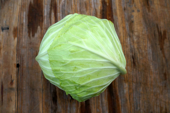 Vegetarian Cabbage Close-up Food Fresh Freshness Green Color Healthy Eating Ingredient Leaf No People Vegetable Salad Wood - Material