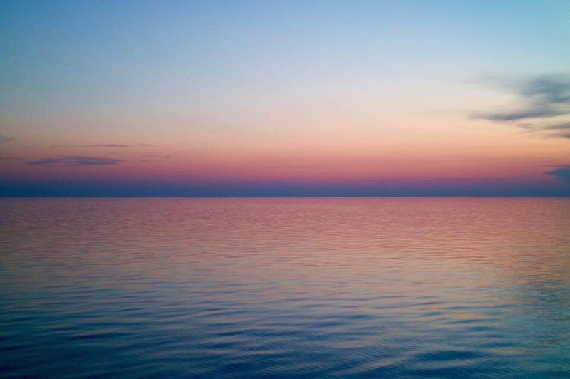 Sunset Sky Sea Nature Tranquil Scene Tranquility Scenics Beauty In Nature Horizon Over Water Water No People Outdoors Day Adriatic Sea Cruise