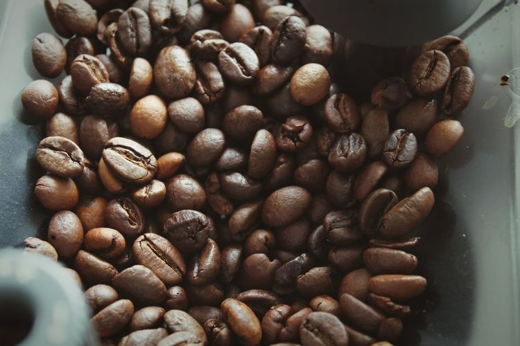 Coffee beans in